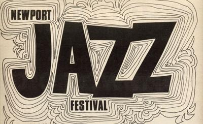 This is the Newport Jazz Festival poster from 1969.