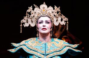 Soprano Irene Theorin sings the title role in Puccini's Turandot.