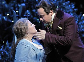 Patricia Racette is the doomed Marguerite and Stefano Secco sings Faust.