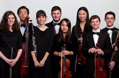 Members of the Philadelphia Youth Orchestra