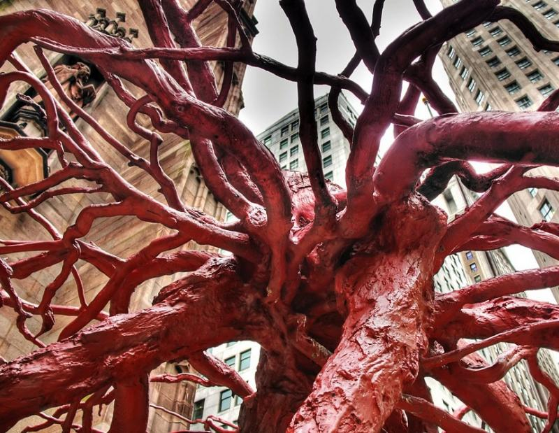 Sycamore Root Sculpture, Ground Zero