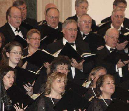 Bucks County Choral Society vocalists