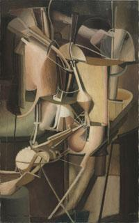 Bride, 1912, Marcel Duchamp, American (born France), Oil on canvas, 35 1/4 x 21 7/8 inches (89.5 x 55.6cm) The Louise and Walter Arensberg Collection, 1950