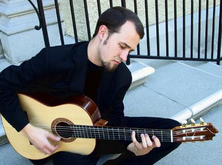 Guitarist Gyan Riley