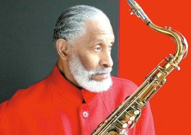 Tenor sax player Sonny Rollins