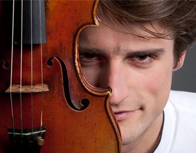 Violinist Lorenzo Gatto