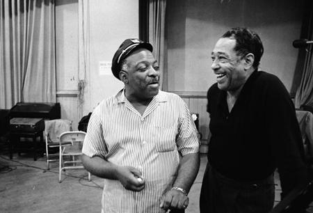 Count Basie and Duke Ellington in 1961