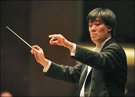 New York Philharmonic Conductor Alan Gilbert