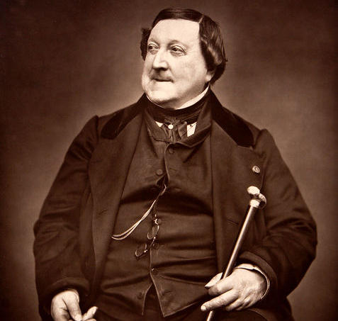 Giochino Rossini, 1865