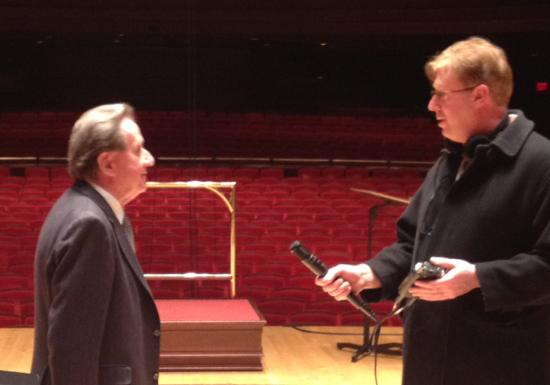 Jim Cotter speaks with Rudolf Buchbinder