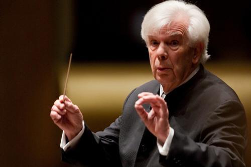Maestro Christoph von Dohnanyi