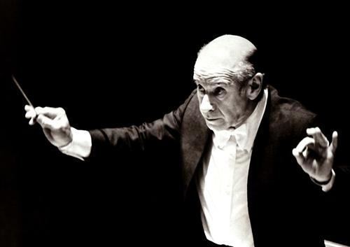 Conductor Erich Leinsdorf