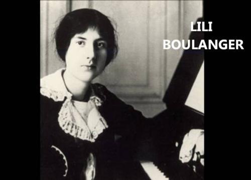 Composer Lili Boulanger (Marie-Juliette Olga Lili Boulanger), 1893 -1918