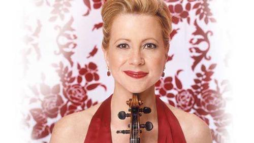 Violinist Maria Bachmann