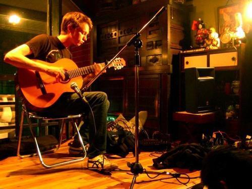 Princeton University student and guitarist Matthew Mullane