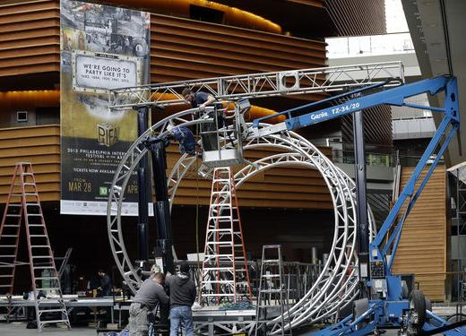 Construction begins on The Time Machine that will be the centerpiece of PIFA 2013.