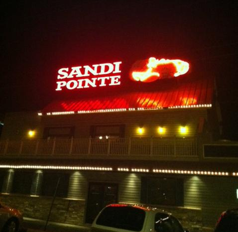 Sandi Pointe Coastal Bistro in Somers Point, NJ.