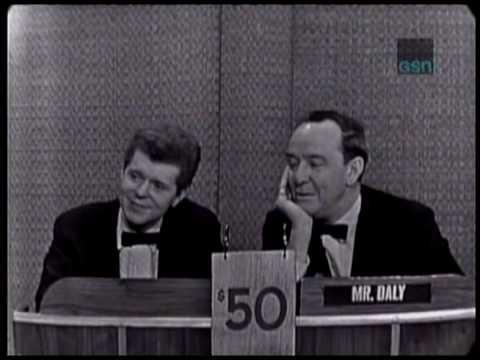 "Van Cliburn on ""What's My Line"" in 1964"