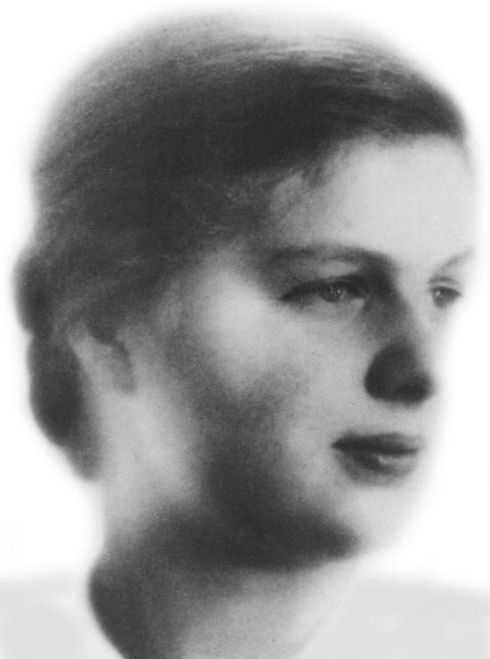 Maria von Wedemeyer was Bonhoeffer's fiancee.