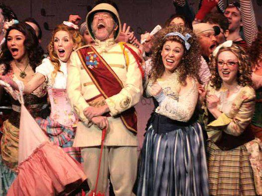The Pirates of Penzance at the Bristol Riverside Theatre