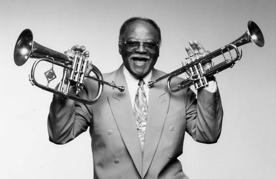 Swing and bop trumpeter Clark Terry