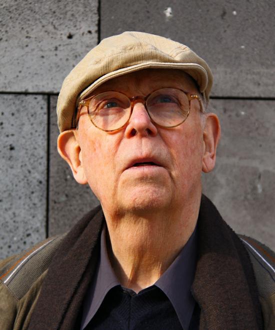 Sculptor Claes Oldenburg