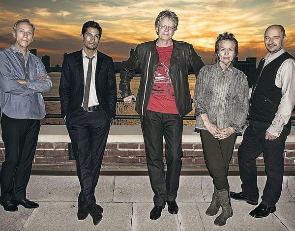 Artist Laurie Anderson with the Kronos Quartet