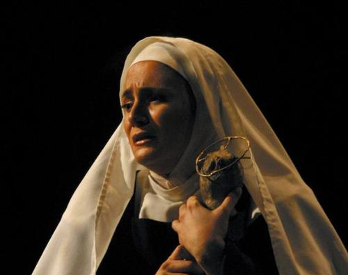 Soprano Patricia Racette sings Mme Lidoine