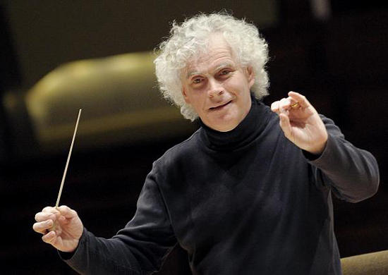 Simon Rattle is leaving the Berlin Philharmonic in 2017 to become music director of the London Symphony Orchestra.