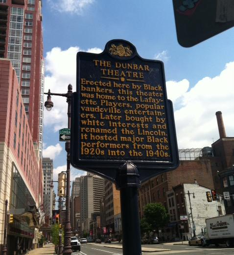 Billie Holiday often performed at the Dunbar Hotel on the southwest corner of Broad and Lombard streets in Philadelphia.
