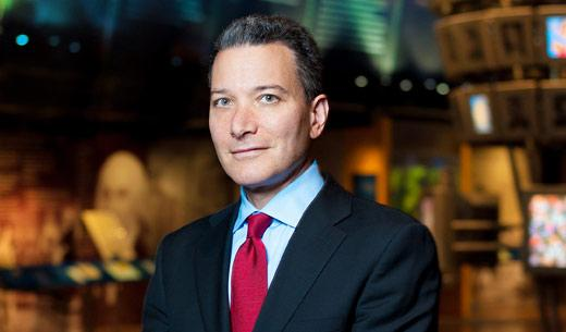 National Constitution Center's new President and CEO Jeffrey Rosen