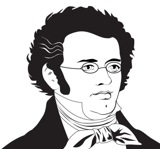 Franz Schubert died at the age of 32 in 1828.
