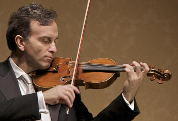 "Gil Shaham plays the 1699 ""Countess Polignac"" Stradivarius."