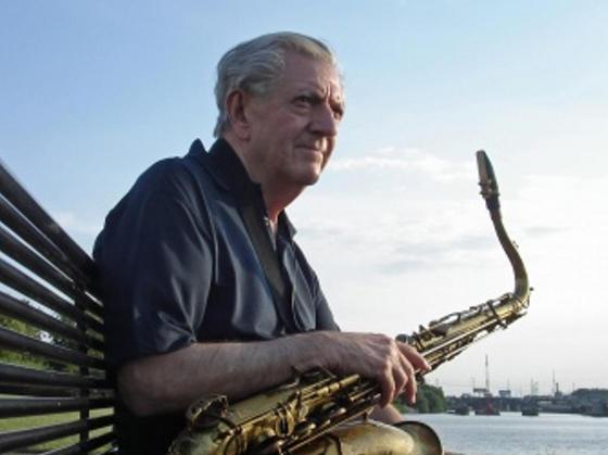 Tenor sax Larry McKenna