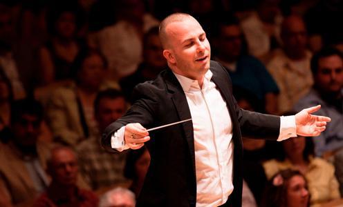 Yannick Nezet-Seguin conducts the Metropolitan Opera Orchestra.