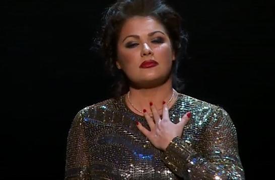 Soprano Anna Netrebko