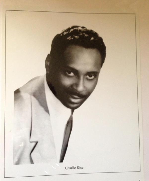 Jazz drummer Charlie Rice