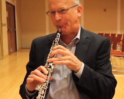 Oboist Richard Woodhams