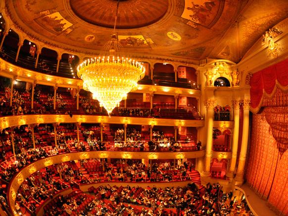 Interior of the Academy of Music