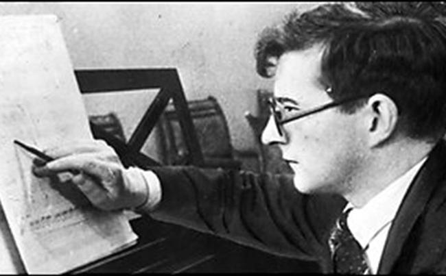 Composer Dmitri Shostakovich (1906-1975)