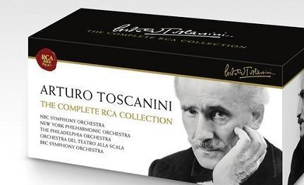 Pledge $365 on November 16th between 6 am and 6 pm and we'll thank you with Arturo Toscanini: The Complete RCA Collection on 85 CDs and a bonus DVD.