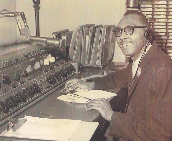 Bob Perkins' first radio gig at WGPR-FM in Detroit, 1964