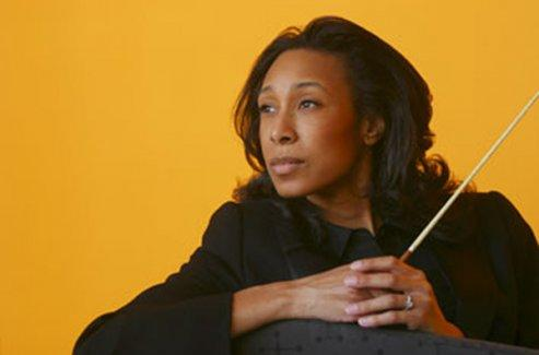 Jeri Lynne Johnson is music director of Black Pearl Chamber Orchestra.