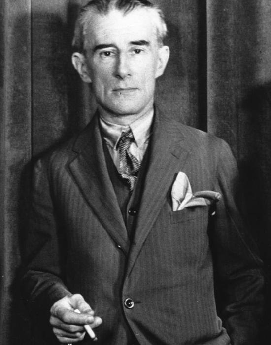 Composer Maurice Ravel (1875-1937)