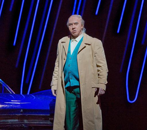 Dmitri Hvorostovsky as the title character in Verdi's RIGOLETTO