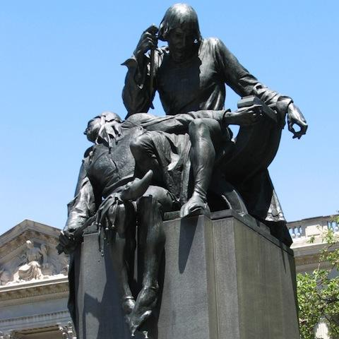 Shakespeare Memorial, Free Library of Philadelphia