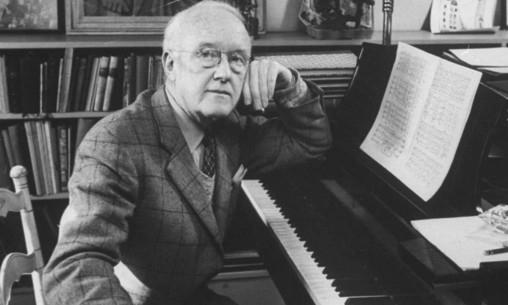 Composer Randall Thompson (1899-1984)