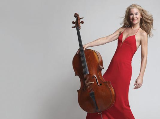 Cellist Sara Sant'Ambrogio