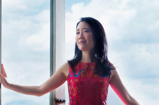 Classically trained jazz pianist Helen Sung
