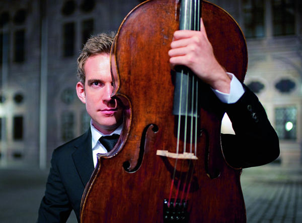 German-Canadian cellist Johannes Moser